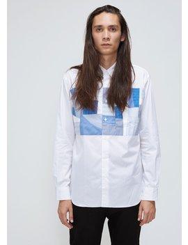 Stripe Check Mix Shirt by Comme Des Garcons Homme