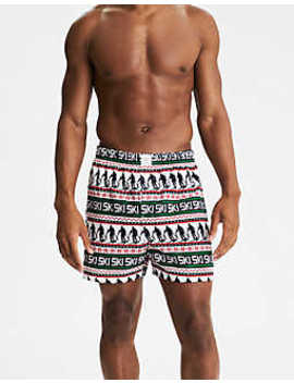 Aeo Ski Flannel Boxer by American Eagle Outfitters