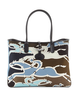 Roseau Galop Tote Bag by Neiman Marcus