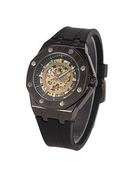 Armbanduhr   Besondere Achteck Fall Man Ch Da Steampunk Automatisch Mechanisch Uhr Für Männer + Geschenkbox by Amazon