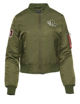 Logo Flight Jacket by 416 Company