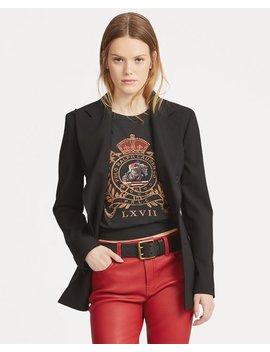 Crest Jersey Graphic T Shirt by Ralph Lauren