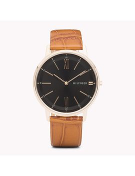 Cooper Honey Brown Watch by Tommy Hilfiger