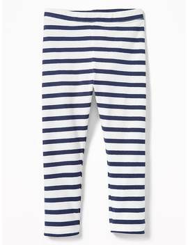 Printed Jersey Leggings For Toddler Girls by Old Navy