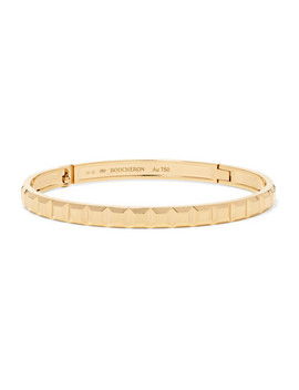 Quatre Clou De Paris 18 Karat Gold Bangle by Boucheron