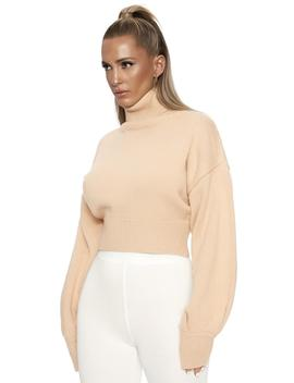 Up To My Neck Sweater by Naked Wardrobe