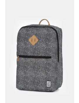 Unisex The Pack Society Double Backpack   Off White Black Dot by Garmentory