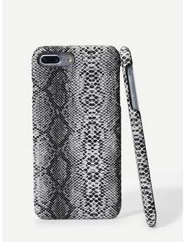 Snakeskin Pattern I Phone Case by Sheinside