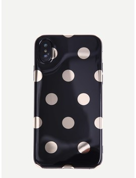 Polka Dot I Phone Case by Sheinside