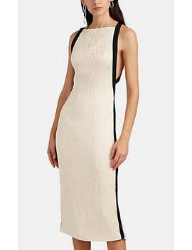 Satin Cloqué Cocktail Dress by Jason Wu