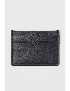 Leather Card Case by H&M