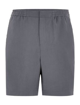 Blue Tencil Shorts With Side Stripe by Topman