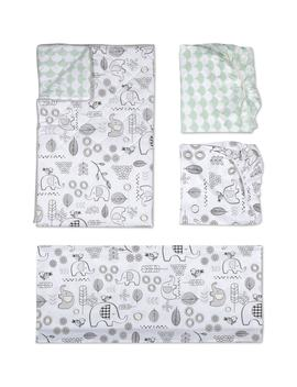 Elle Elephant 4 Piece Crib Bedding Set by Living Textiles