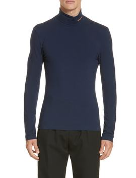 Jersey Turtleneck by Calvin Klein 205 W39 Nyc