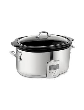 6 1/2 Quart Slow Cooker With Black Ceramic Insert by All Clad