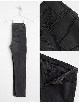 Heart & Dagger ‒ Enge Jeans In Verwaschene Schwarz by Asos
