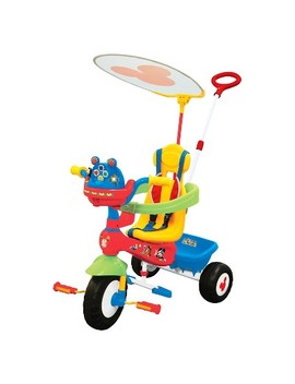 Kiddieland Disney Mickey Mouse Clubhouse Push N' Ride Trike by Kiddieland