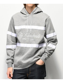 The Hundreds Palmer Grey Hoodie by The Hundreds