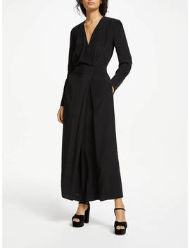 Somerset By Alice Temperley Wrap Jumpsuit, Black by Somerset By Alice Temperley