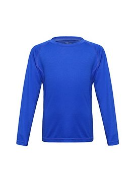 Trailside Supply Co. Big Boys' Quick Dry Active Sport Long Sleeve Compression Baselayer T Shirt by Trailside+Supply+Co.