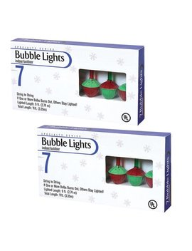 Multi Color Bubble Lights (Set Of 2) by Gil/Sterling