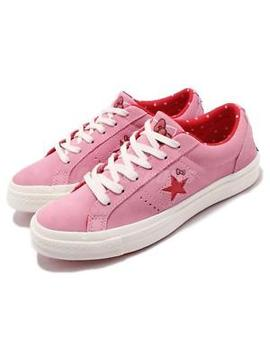 Hello Kitty X Converse One Star Low Ox Prism Pink Suede Men Women Shoes 162939 C by Converse
