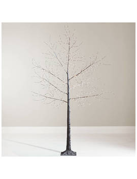 John Lewis & Partners Pre Lit Micro Led Twig Tree, 6ft, Copper by John Lewis & Partners