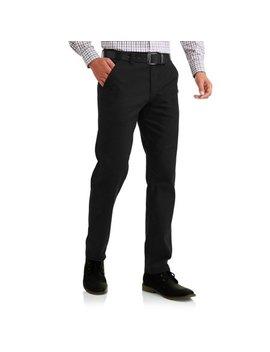 Seven Oaks Men's Stretch Slim Chino Twill Pant by Seven Oaks