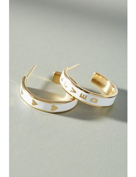 Lovestruck Hoop Earrings by Anthropologie