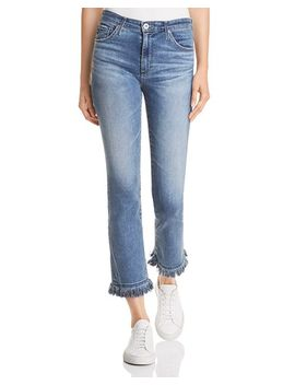 Jodi Crop Skinny Flare Jeans In Pastoral Plains by Ag