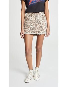 Vanguard Mini Skirt by One Teaspoon