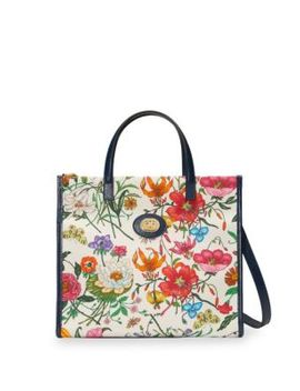 Small Flora Tote by Gucci