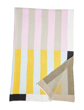 Stripe Throw Blanket by Dusen Dusen