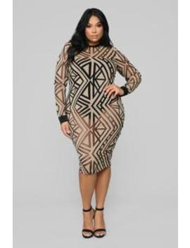 This Is Real Love Dress   Mocha by Fashion Nova