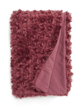 Curly Faux Fur Throw by Treasure & Bond