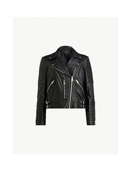 Estella Leather Biker Jacket by Allsaints
