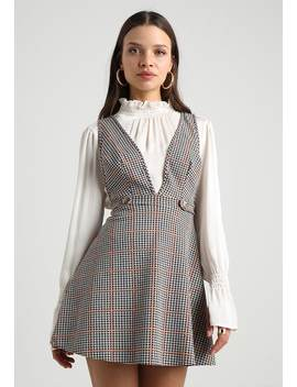 Check Pinny Dress   Jerseykleid by Miss Selfridge Petite