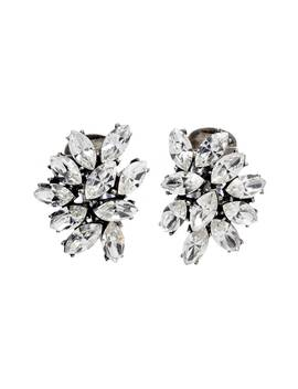 Swarovski Crystal Cluster Clip Earrings by Ben Amun