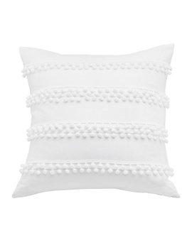 Trina Turk Pom Pom Throw Pillow by Trina Turk