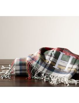 Denver Plaid Throw by Pottery Barn