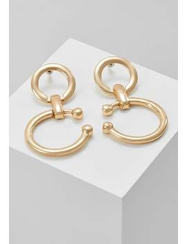 Barbell Link Drop    Ohrringe   Gold by Erase