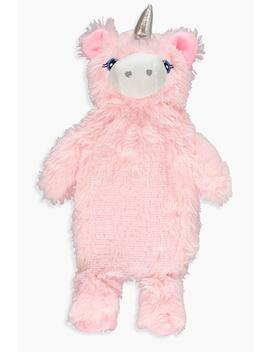 Fluffy Unicorn Hot Water Bottle by Boohoo