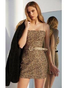 Kendall & Kylie Leopard Shift Dress by Pacsun