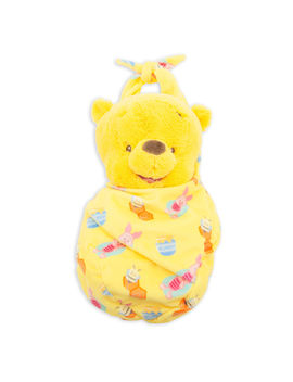 Winnie The Pooh Plush In Pouch   Disney Babies   Small by Disney