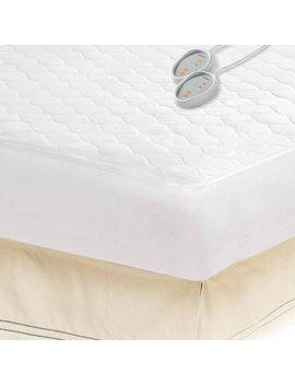 Beautyrest Cotton Blend Heated Mattress Pad by Beautyrest