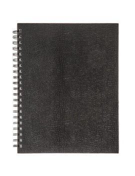 "Black Spiral Bound Sketchbook   8 1/2"" X 11"" by Hobby Lobby"