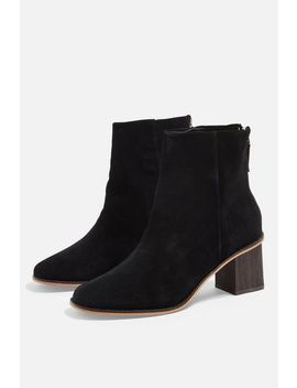 Meghan Mid Ankle Boots by Topshop
