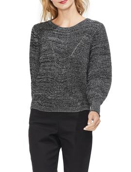 Lace Up Back Sweater by Vince Camuto