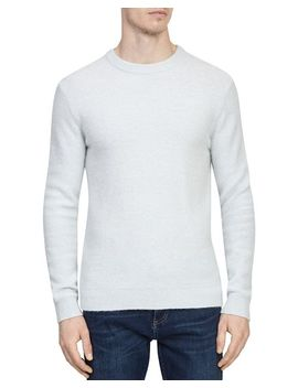 Motion Mouline Crewneck Sweater by Reiss