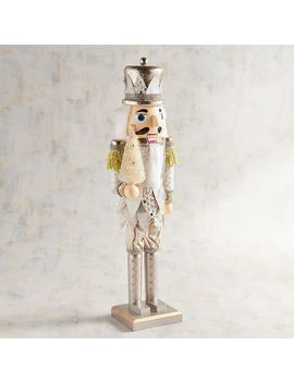 "Champagne 19"" Nutcracker by Pier1 Imports"